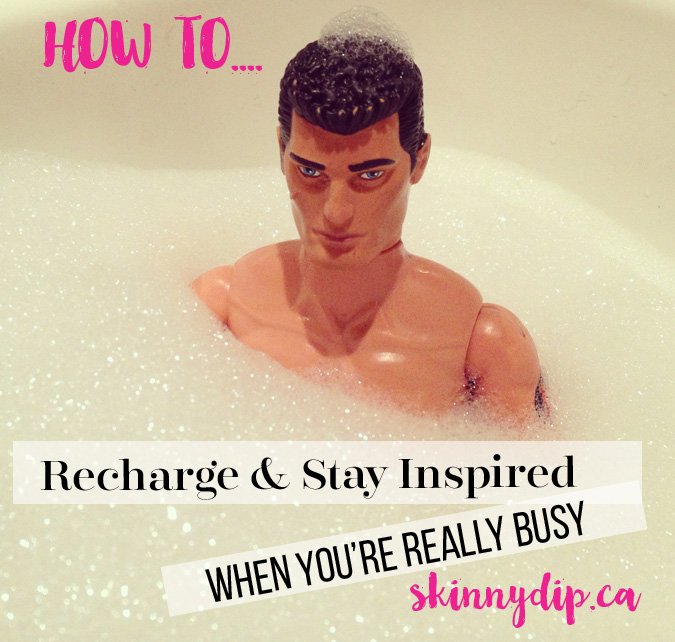 how to recharge when you're busy
