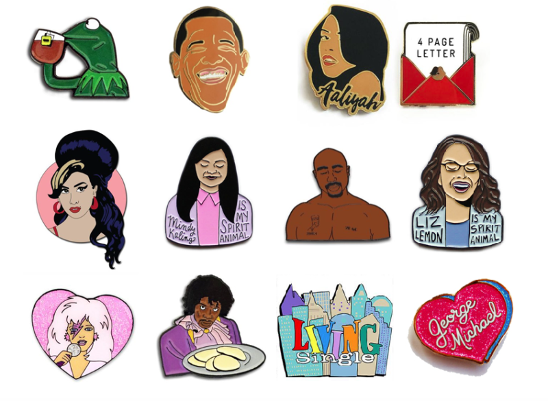 how to customize your denim with enamel pop culture pins