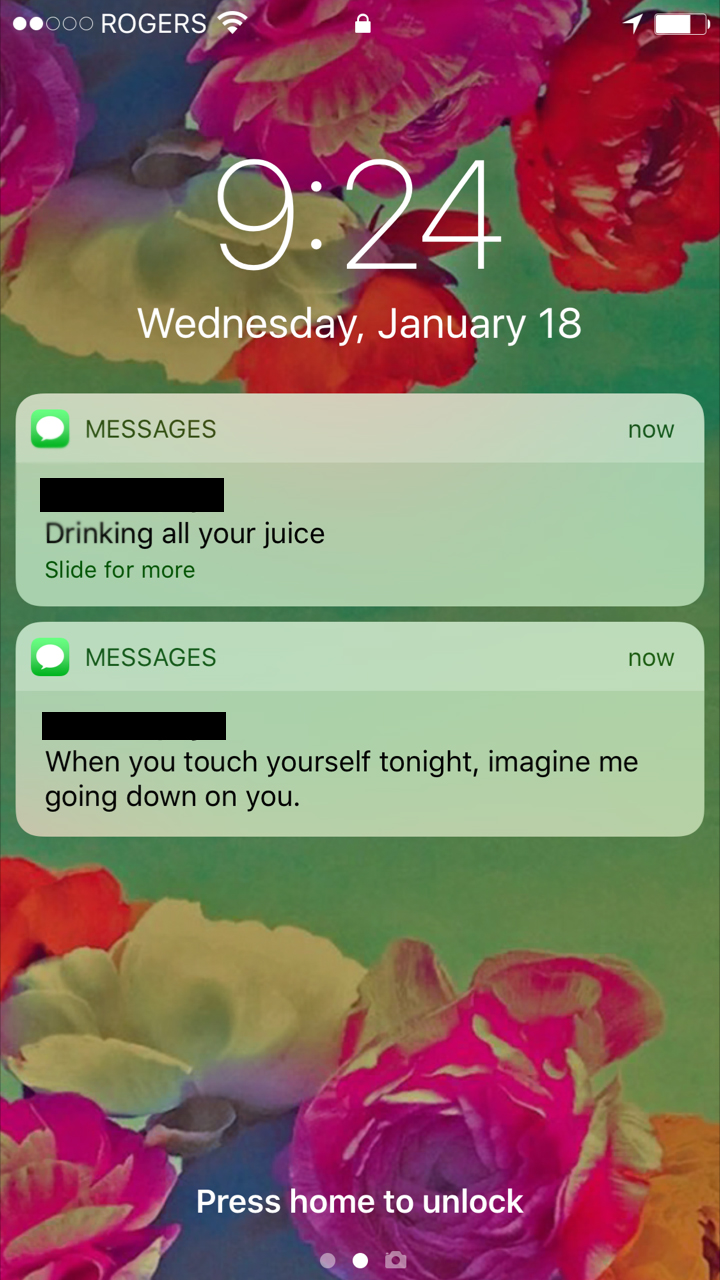 Texts From Your Ex