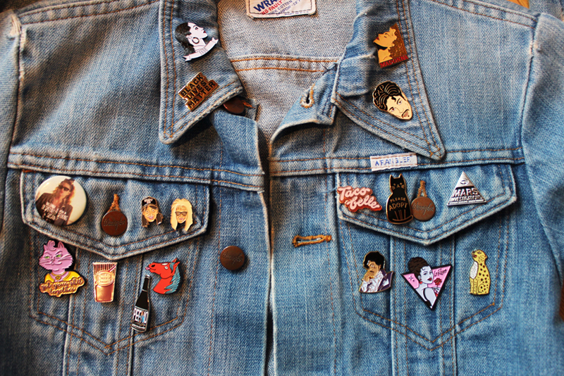 DIY: How To Customize Your Denim Jacket With Pins | Skinny Dip