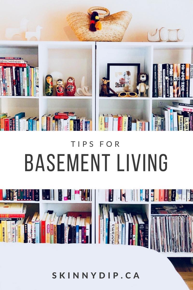 Tips For Basement Living ...