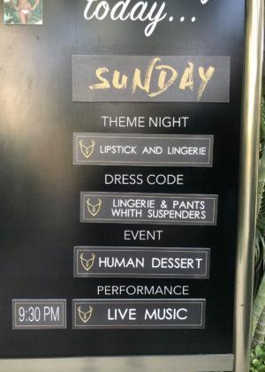 The daily schedule at Desire Riviera Maya